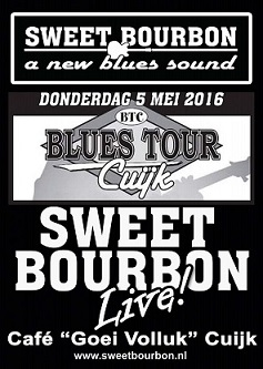 Blues Tour Cuijk SWEET BOURBON & Bourbonnettes